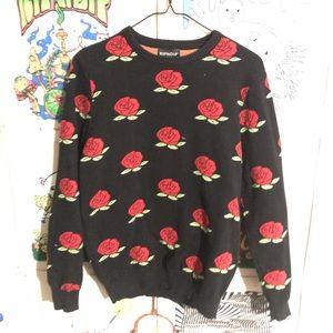 Ripndip Roses sweater